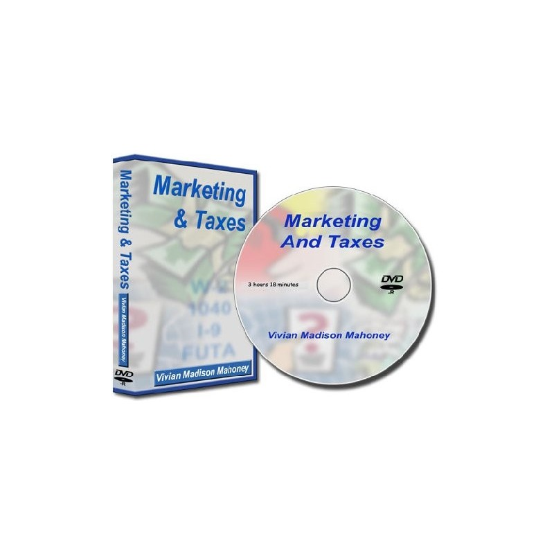 Marketing & Taxes Seminar On DVD