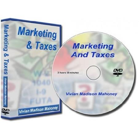 Marketing & Taxes Seminar On DVD
